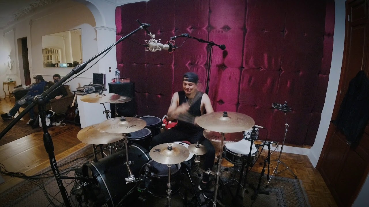Drum sessions para IMPER en El Bunker