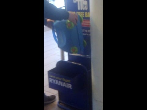 Trunki Hand Luggage On Ryanair Will It Fit