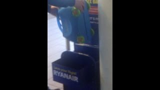 Trunki hand luggage on Ryanair - Will it fit?