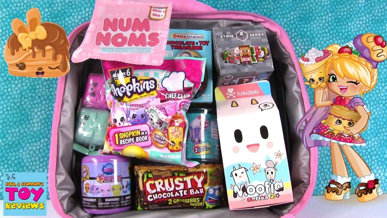 Disney Surprise Lunchbox Shopkins Num Noms Surprise Egg