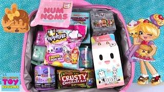 Disney Surprise Lunchbox Shopkins Num Noms Surprise Egg Blind Bag Toy Review | PSToyReviews