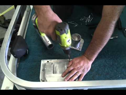 H2O Marine Supplies Nautical Napper Installation