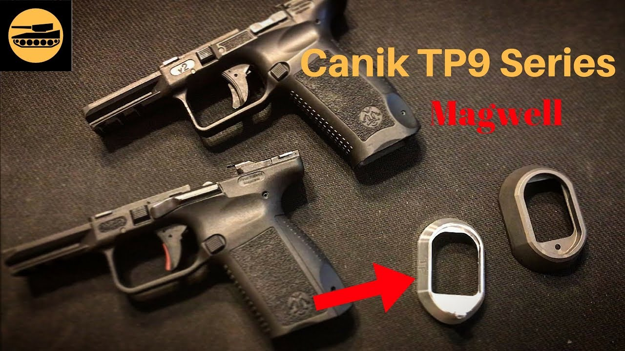 Canik TP9 Series Aluminum Magwell (Quick Look) by Frank Xu - Frank the Tank