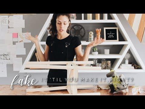 DIY Plant Holder | Fake It 'til You Make It