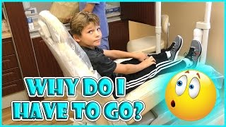 TYLER GETS KICKED OUT OF THE DENTIST! | OUR PUPPY HAS A NAME | We Are The Davises