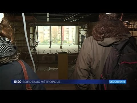 Bordeaux : la salle des fêtes du Grand Parc poursuit sa mue