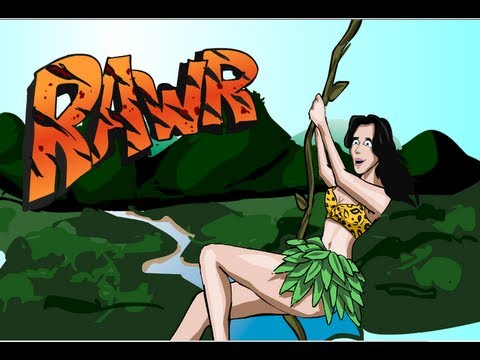 Katy Perry - ROAR (CARTOON PARODY)