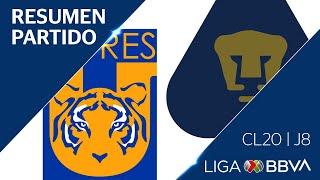 Resumen y Goles | Tigres vs Pumas | Jornada 8 - Clausura 2020 | Liga BBVA MX