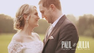 Paul & Julia at Brookfield Barn