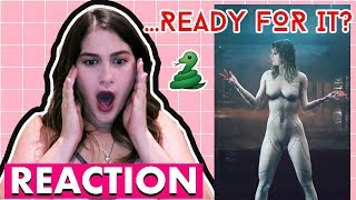 Taylor Swift - Ready For It Music Video REACTION