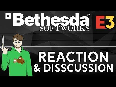 Bethesda Softworks Press Conference (E3 2018) Livestream +  Reaction/Disscussion