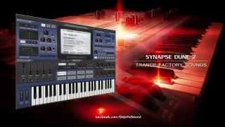 【TRANCE】Synapse Dune 2 Factory Presets by Kevin Schroeder