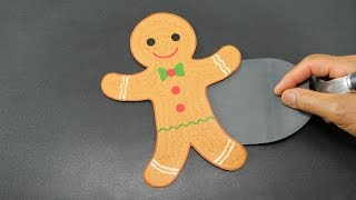 PANCAKE - Christmas Gingerbread Man by Tiger Tomato