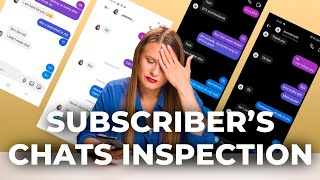 How to chat with girl | Subscriber's chats analasys