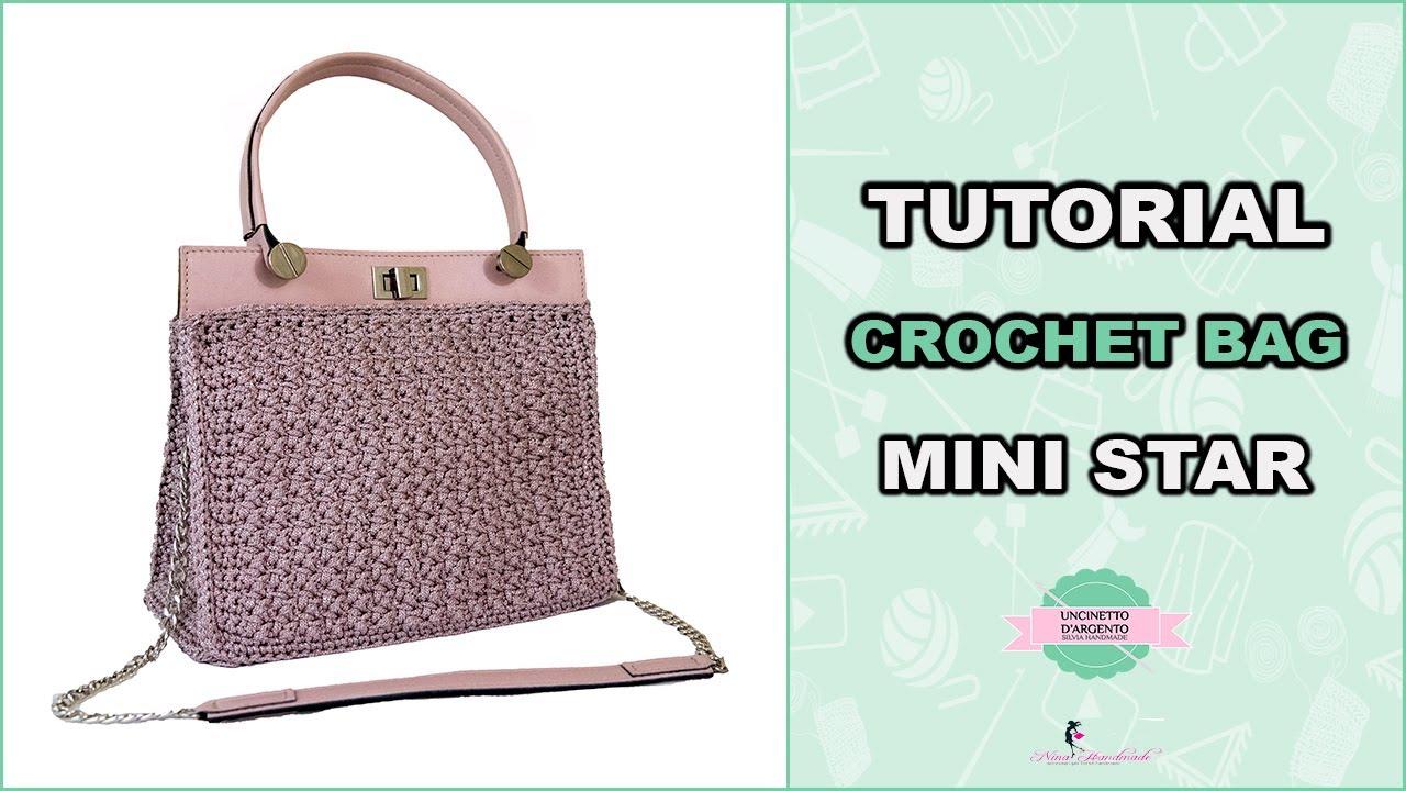 Tutorial Diy Crochet Bag Mini Star With Sub Punto Fantasia
