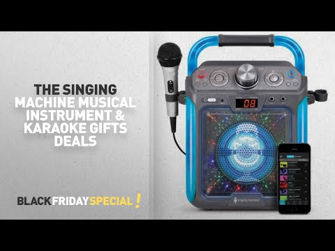 Walmart Top Black Friday The Singing Machine Musical Instrument & Karaoke Gifts Deals: Singing