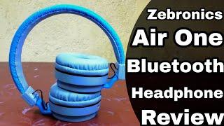Budget Bluetooth Headphone - Zebronics Air One Bluetooth headphone Review