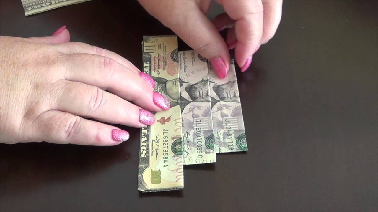 How to make an easy to fold money origami cake youtube how to make an easy to fold money origami cake jeuxipadfo Choice Image