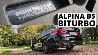 ALPINA B5 BiTurbo - auto ze skreślonym VINem