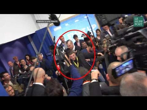 """Un journaliste de """"Quotidien"""" violemment expulsé lors d'une visite de Marine Le Pen"""