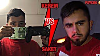 KEREM VS SAKET - FIFA 19 die 100€ WETTE gegen einen PSYCHO 😳