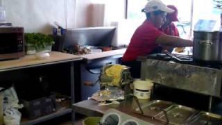 Corn Tortilla Making At El Camino Real