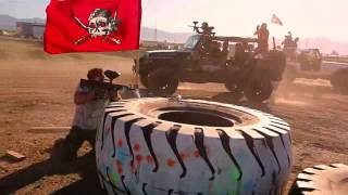 Чумовая игра в пейнтбол Остальные Видео epic paintball battle1