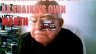 AKShaikh Spit Drops AKSHAIKH his Own Mouth