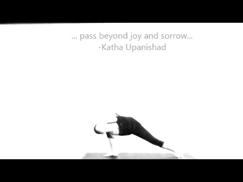Yoga Meditation inspirational quote, gongs and chanting