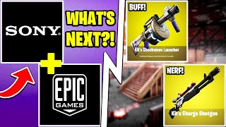 Sony Now OWNS Epic Games, Gulag in Fortnite, All New Item Changes!