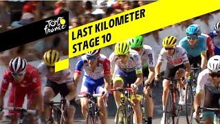 Bekijk de laatste kilometer van etappe 10 Tour de France 2019
