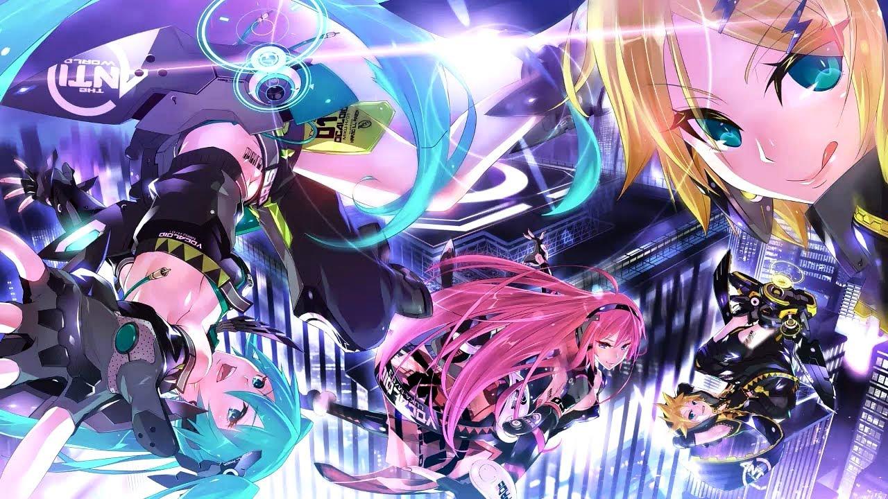 Vocaloid Wallpaper Rin Vocaloid DJ Mix...