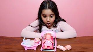أصغر لعبة بيبي في العالم !!- العاب بنات  ! Miniature Baby dolls