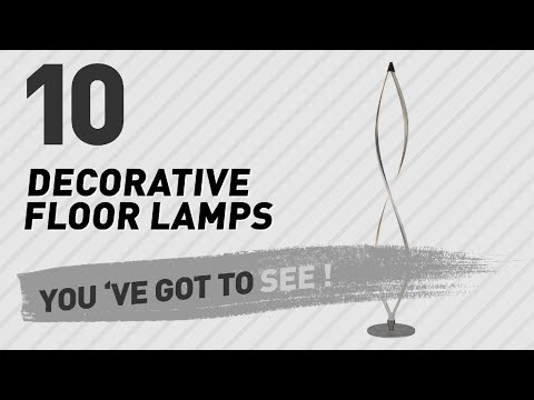Decorative Floor Lamps // New & Popular 2017