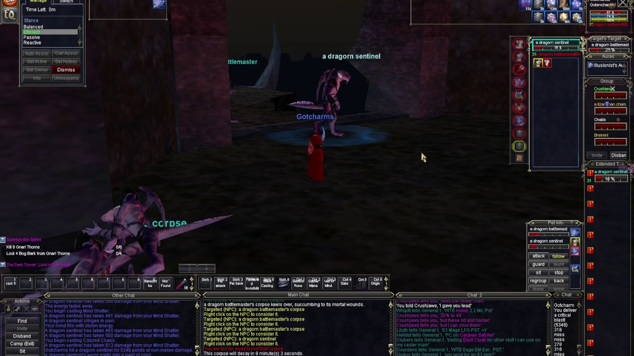 New Heroic Enchanter at a loss for nonperformance  | EverQuest Forums