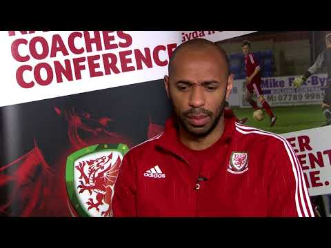 Thierry Henry on his FAW coaching journey