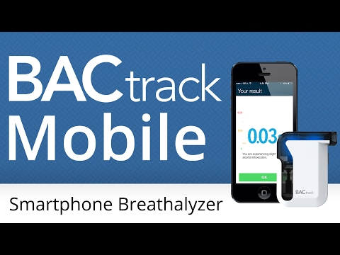 BACtrack® Mobile Smartphone Breathalyzer | Official Product Video