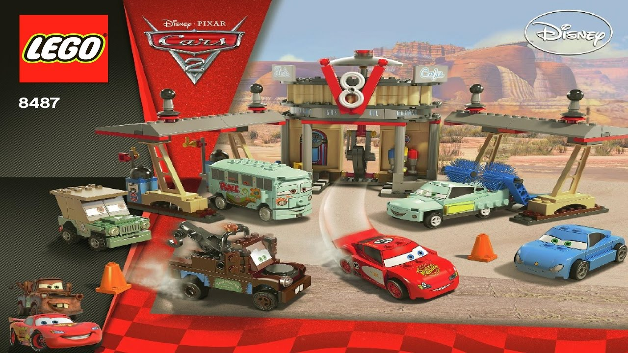 Lego Cars  Flo S V Cafe