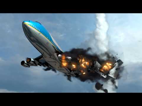 Air Force One Airplane crash