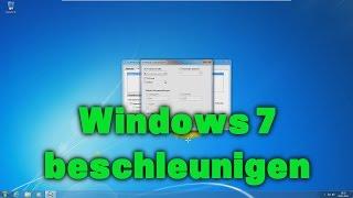 Windows 7 beschleunigen / schneller machen