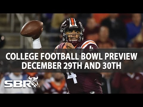 College Bowls Preview With Ian Cameron | December 29th & 30th Games