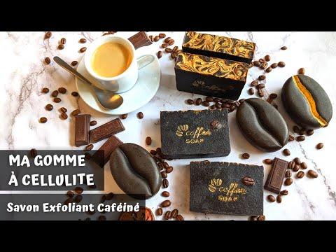 MA GOMME À CELLULITE || Savon Exfoliant Anti-Cellulite aux Café et Cacao