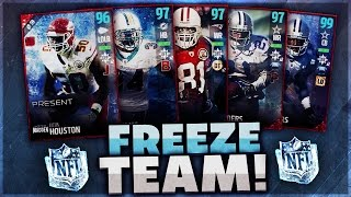 INSANE EVERY LTD ULTIMATE FREEZE TEAM GAMEPLAY! Madden 17 Ulti…