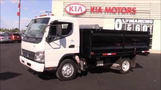 2010 Mitsubishi Fuso Dumptruck Turbo Diesel Indepth Walk around and Start up