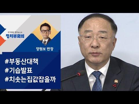 [정치부회의] 보유세 강화, 분양가상한제 확대…18번째 부동산 대책
