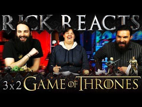"RICK REACTS: Game of Thrones 3x2 REACTION!! ""Dark Wings, Dark Words"""