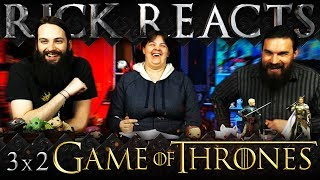 rick reacts game of thrones 3x2 reaction dark wings dark words