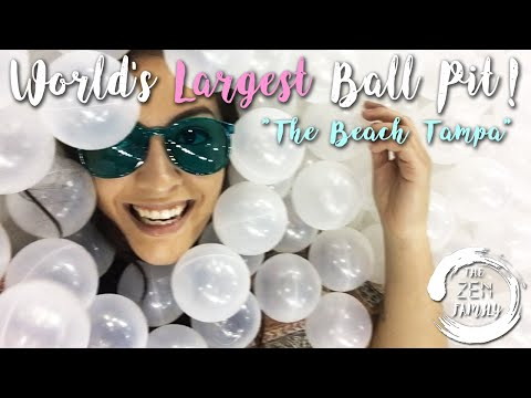 World's Largest Ball Pit - The Beach Tampa