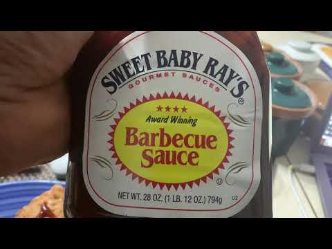 Sweet Baby Ray's BBQ Sauce Good On Greens, Fish, Shrimp, And Pasta. Mark Zuckerberg, Thanks! https://youtu.be/-bWjgW0fJPg