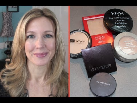 Best & Worst ~ Testing Powder Foundations for Mature, Aging Skin